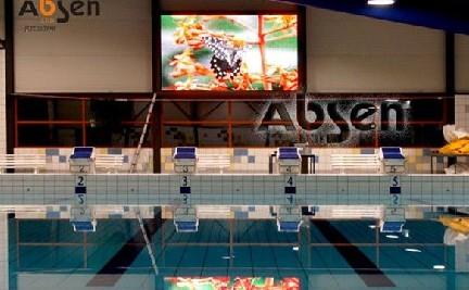 Yi Bisen LED-Anzeige blühenden Schwimmbad in den Niederlanden