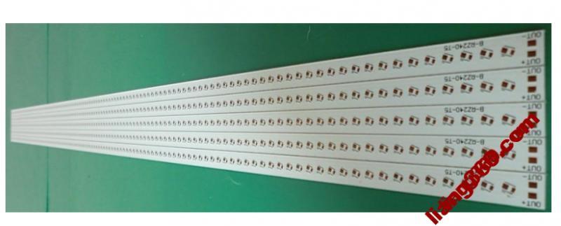 LED3014-fluoreszierende Aluminiumplatte